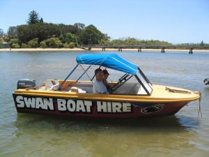 Swan Boat Hire - Accommodation in Surfers Paradise