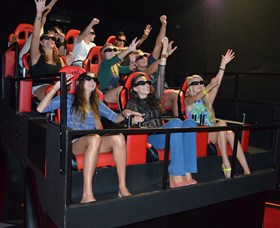 7D Cinema - Virtual Reality - Accommodation in Surfers Paradise