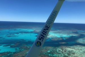 Pink Lake  Abrolhos Island Flyover - Accommodation in Surfers Paradise